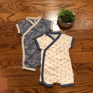 Old Navy 2 pc 3-6M Boy Rompers